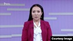 Айкөл Турганбаева.