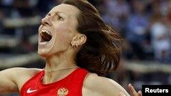 Мария Савинова, олимпийская чемпионка в беге на 800 метров