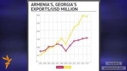 2003-2014-ին Վրաստանի արտահանումը ԵՄ տասն անգամ ավելի է աճել, քան Հայաստանինը
