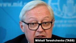 File photo - Russian Deputy Foreign Minister Sergei Ryabkov.