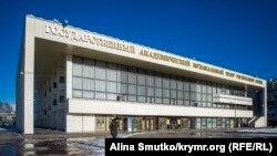Здание театра, Симферополь, архивное фото
