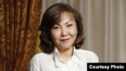 Динара Кулибаева.