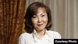 Средняя дочь бывшего президента Казахстана Нурсултана Назарбаева Динара Кулибаева.