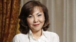 Динара Кулибаева, средняя дочь экс-президента Казахстана Нурсултана Назарбаева.