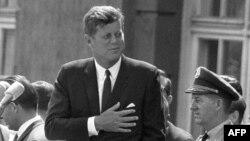 John F. Kennedy, Berlin, 1963.