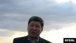 Бывший министр охраны окружающей среды Нурлан Искаков. На территории Коргалжынского заповедника, 2006 год.