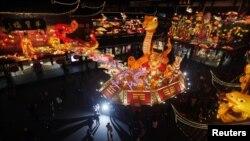 جشن سال نو چینی در شانگهای چین