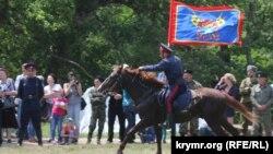 День города Симферополя, джигит-шоу казаков, 6 июня 2015 года