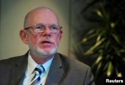 Австралийский адвокат Джерри Скиннер, представляющий интересы родственников жертв катастрофы в ЕСПЧ