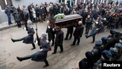 Похороны погибшего сотрудника полиции Дмитрия Маковкина