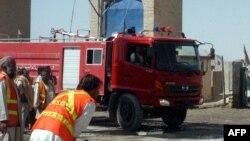 Пожарная машина в Пакистане. Иллюстративное фото.