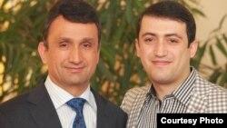 Отец и сын Зайд и Хайрулло Саидовы