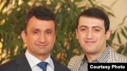 Зайд Саидов и его сын Хайрулло