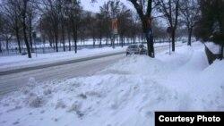 Букурешт под снег