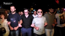 Armenian Activists March In Support Of Opposition Gunmen
