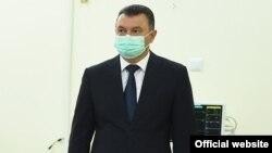 Кохир Расулзода, премьер-министр и руководитель республиканского штаба по профилактике распространения COVID-19