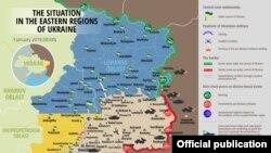 د اوکراین نقشه.
