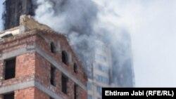 Пожарот во зградата во Азербејџан