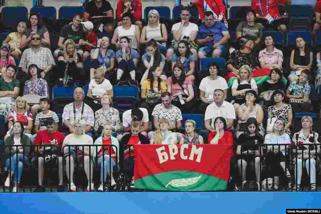 Ніводныя спаборніцтвы Эўрагульняў не праходзяць без актывістаў БРСМ