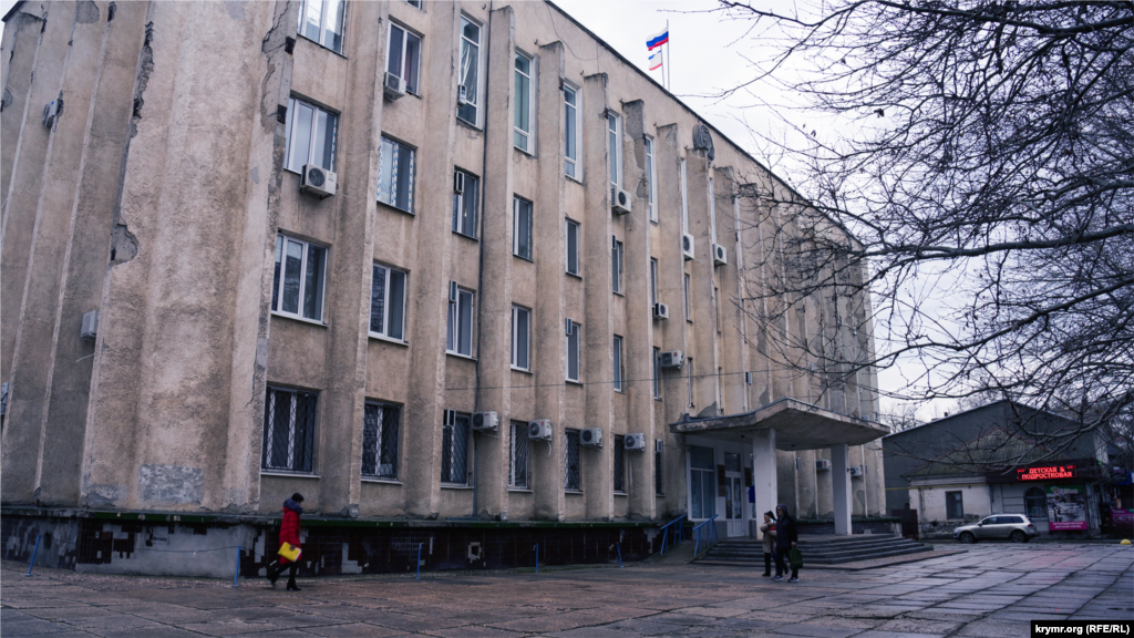 Здание российского районного совета и горадминистрации