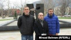 Branko Matešin, Duje Šantić i Antonio Zelenika, Mostar, 5. mart 2016.