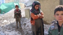 Displaced Afghans Fight Freezing Temperatures