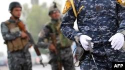 قوات أمن عراقية في الجادرية ببغداد