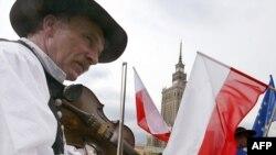 Один из варшавских музыкальных парадов