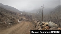 Ала-Бука районундагы Чоң-Сай айылы.
