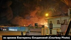 A fire broke out at the penal colony during the rioting, engulfing an area of about 30,000 square meters.
