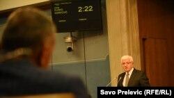 Duško Marković u Skupštini Crne Gore