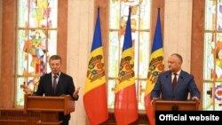 Dmitri Kozak într-o vizită oficială la Chișinău pe 24 iunie 2019