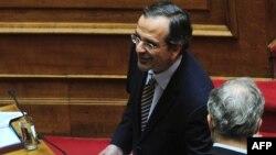 Лидерот на Нова демократија Андонис Самарас.