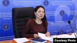 Анара Султангазиева.