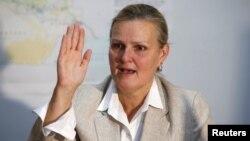 لیزا گراند هماهنگ کنندۀ مساعدت های بشری سازمان ملل متحد برای عراق