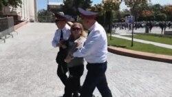 Полиция Жеңіс күні бірнеше адамды ұстады