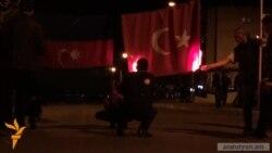 Ստեփանակերտում եւս այրեցին Թուրքիայի դրոշը