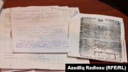 Fuad Zamanovun müalicəsiylə bağlı sənədlər