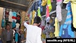 Вещевой рынок в Бухаре. Иллюстративное фото.