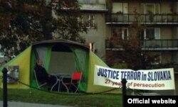 Протест осужденных по делу об убийстве Людмилы Цервановой