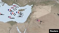 Mapa vazdušne akcije