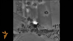 Russia Releases Gun-Camera Video Of Syria Air Strikes