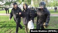 Во время акции против строительства собора в Екатеринбурге