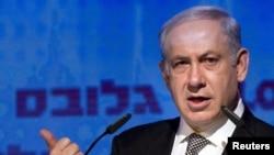 Israeli Prime Minister Binyamin Netanyahu (file photo)