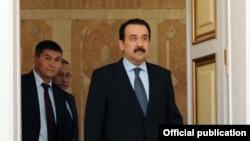 Кәрім Мәсімовтің Қазақстан премьер-министрі болған кездегі фотосы. Бішкек, 16 қыркүйек 2011 жыл.