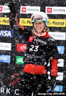 Українська сноубордистка Аннамарі Данча. США, 5 лютого 2019 року