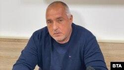 Министър-председателят в оставка Бойко Борисов