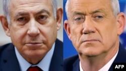 Benjamin Netanjahu i Beni Ganc