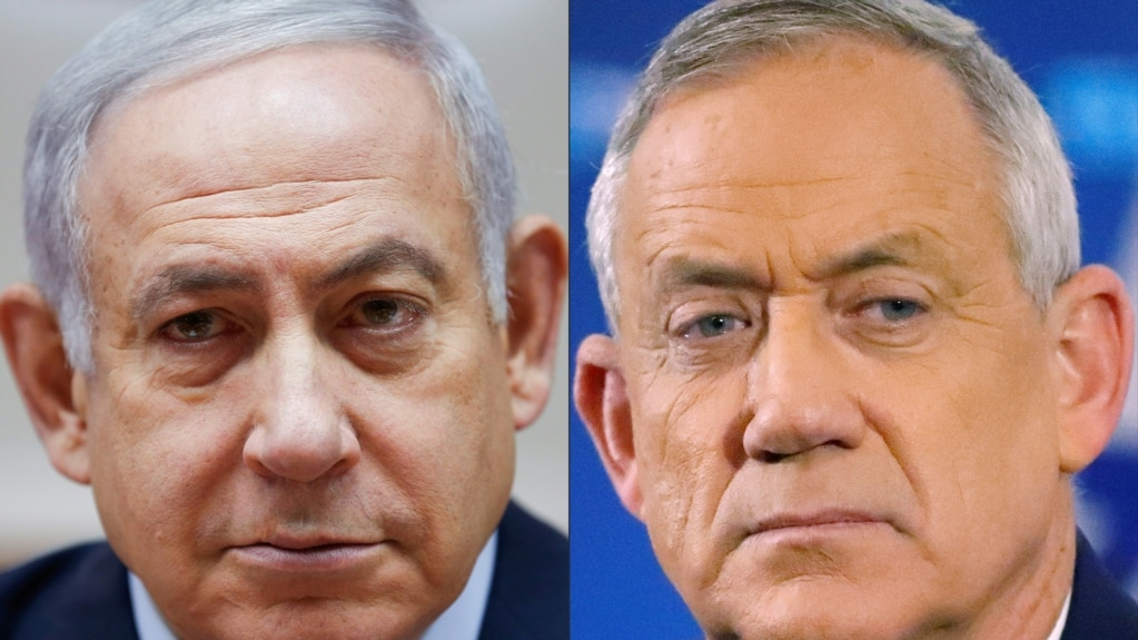 Izraelski premijer Benjamin Netanjahu i njegov rival Beni Ganc tvrde da su za vladu nacionalnog jedinstva, ali ne mogu da se saglase ko treba da je vodi