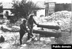 Немецкие солдаты в Крыму